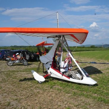 Flying with wing Profi 14